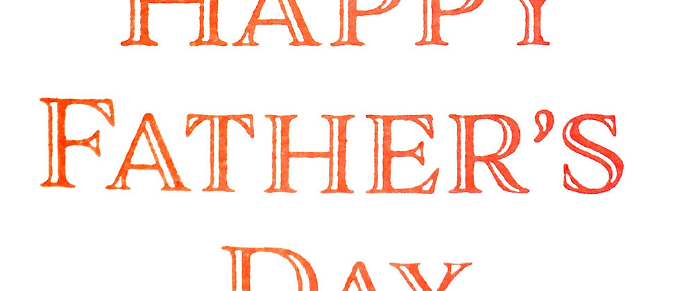 """""""Happy Father's Day"""" Chocolates"""