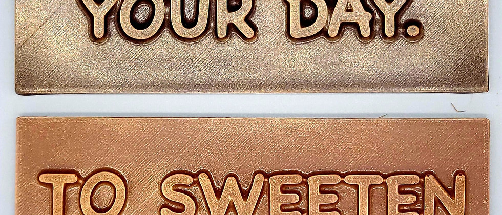 To Sweeten Your Day Chocolate Bar