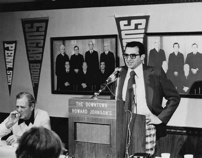 1975 Sugar Bowl Press Conference