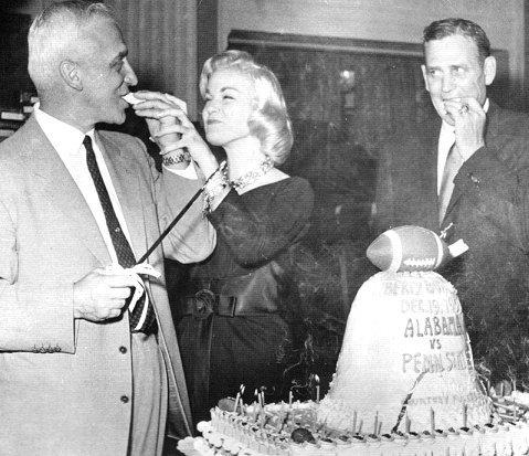 1959 Liberty Bowl Rip Engle and Paul Bry