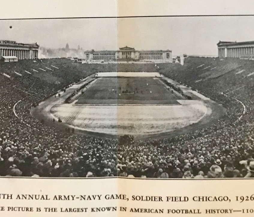 1927 Stagg Book Panoramic Crowd Shots (3