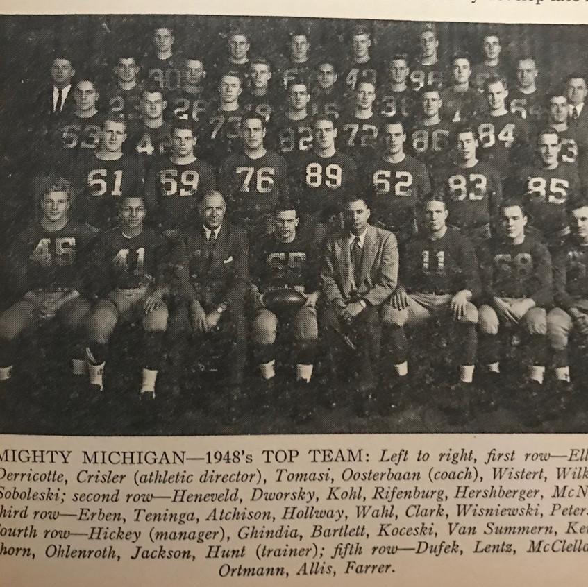 1948 Michigan Team