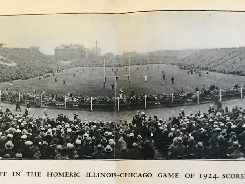 1927 Stagg Book Panoramic Crowd Shots (2