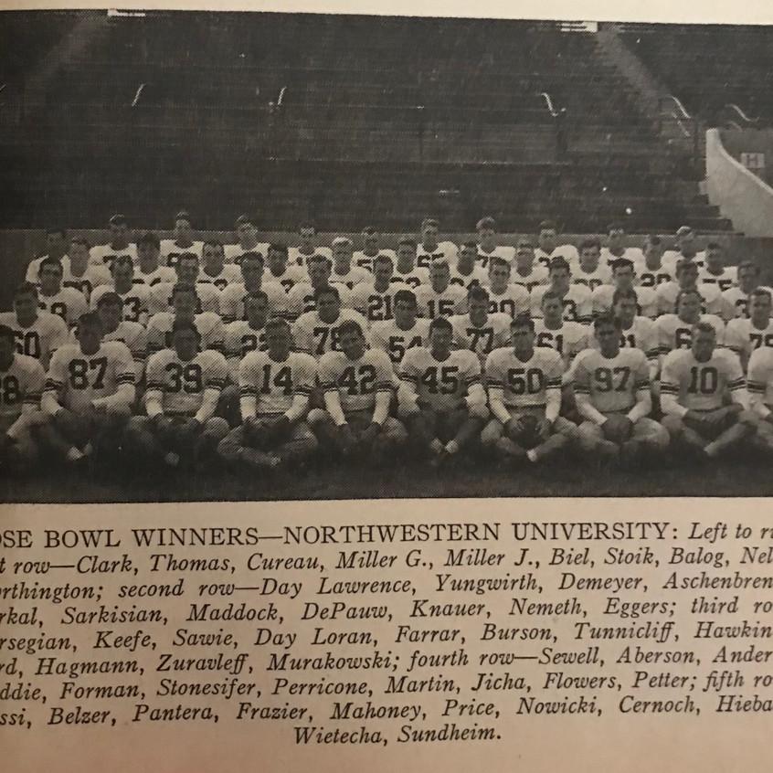 1948 Northwestern Team