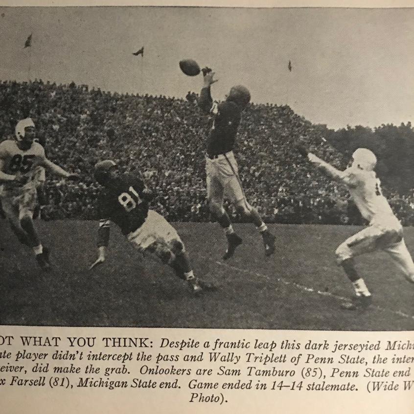 1948 Penn State Michigan State Game