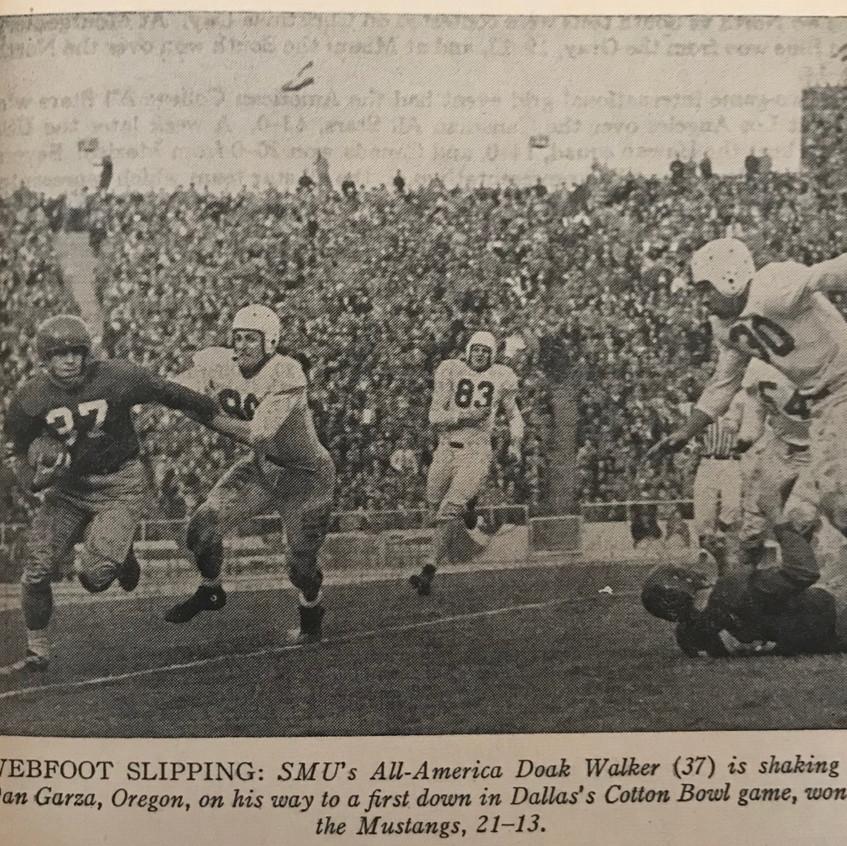 1949 Cotton Bowl Doak Walker