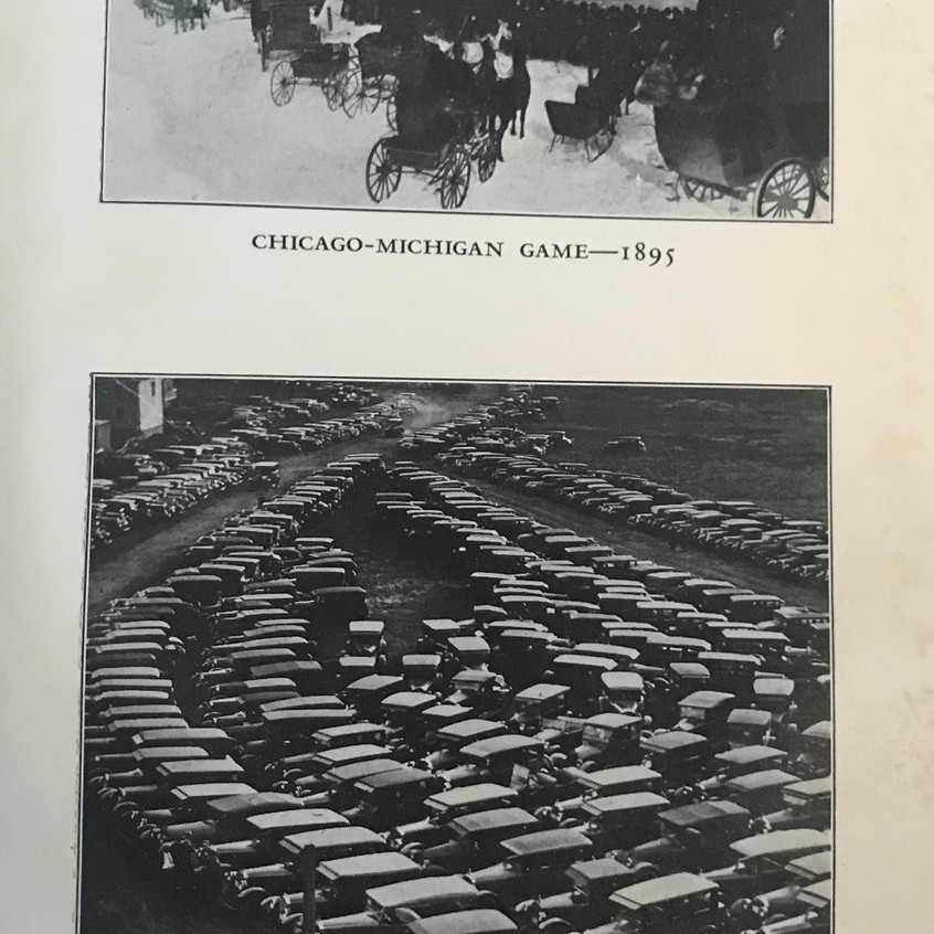 1927 Stagg Book Game Parking