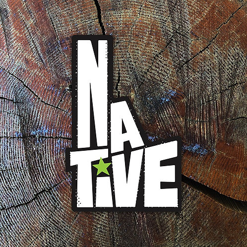 Boise Native Sticker