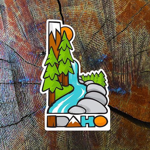 Idaho. It's All That Sticker