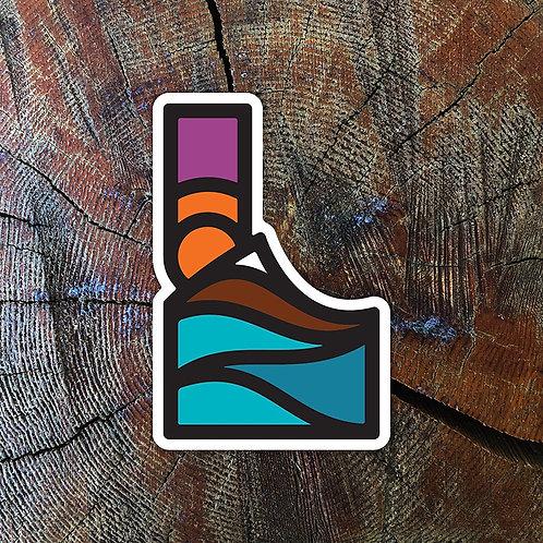 Idaflow Sticker