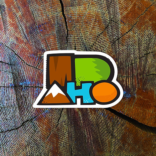 ID-AHO Sticker