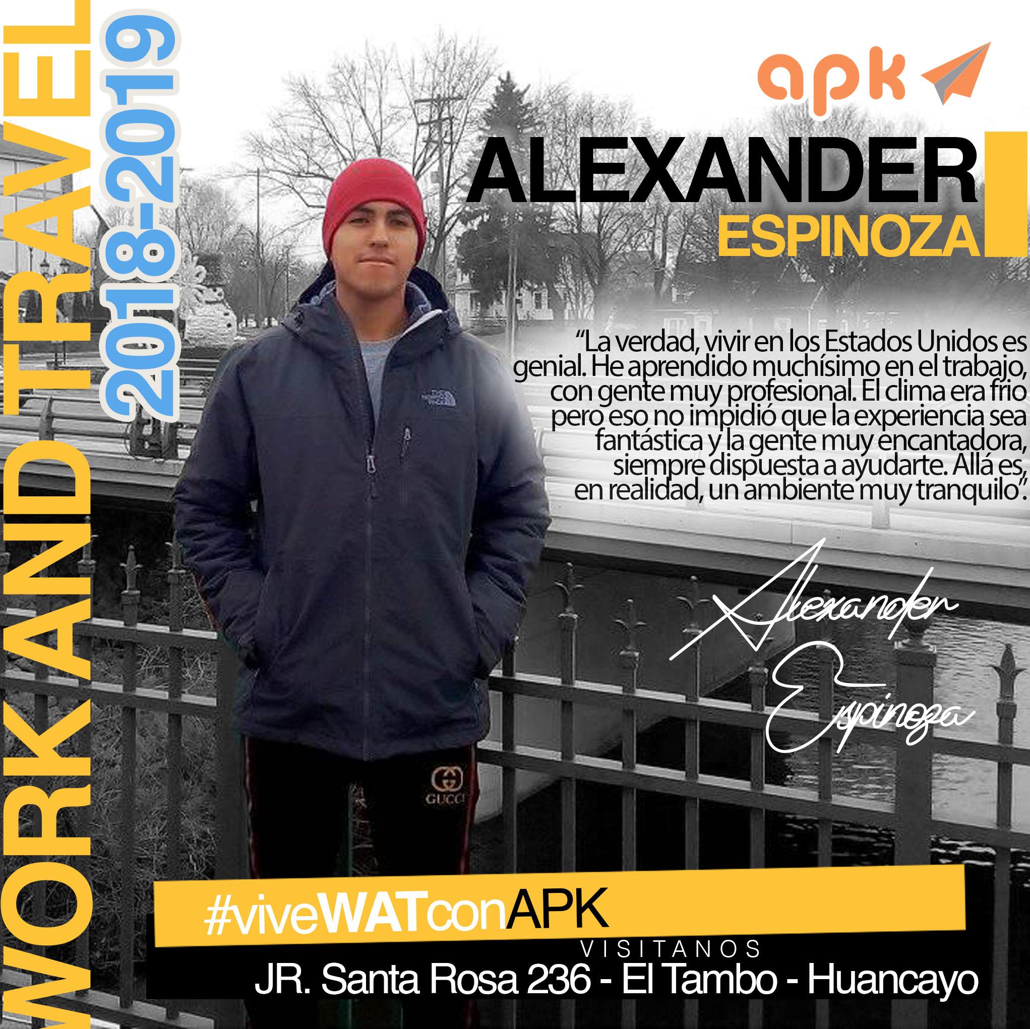 Alexander Espinoza