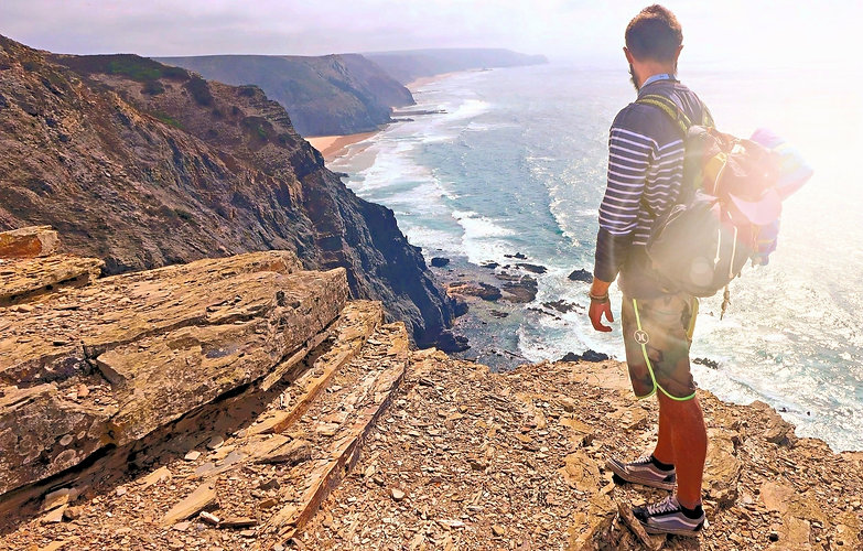 West Coast Hiking, Lagos Algarve Portugal, Vicentine Coast & Rota Vicentina