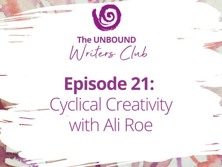 Episode 21:  Cyclical Creativity with Ali Roe