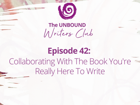 Episode 42: Collaborating With The Book You're Really Here To Write