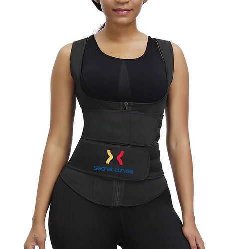 (0030) Neoprene Vest Double Belt Trainer