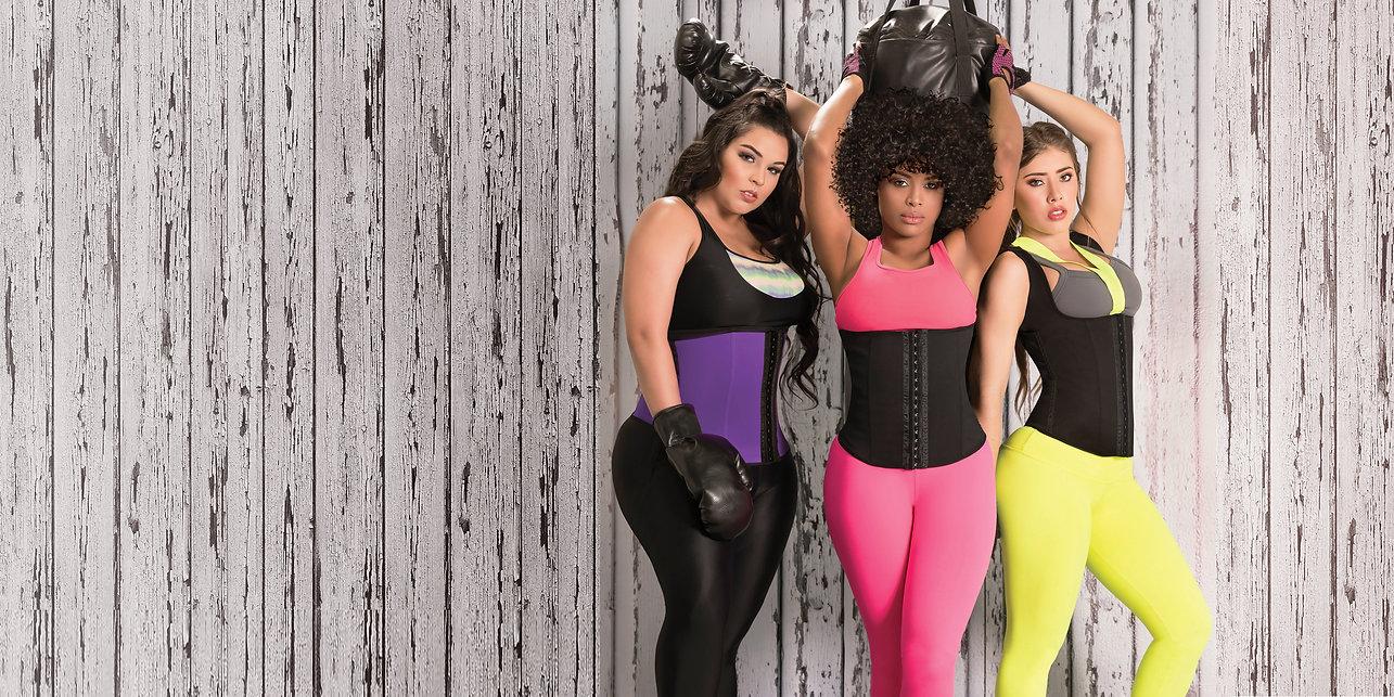 ladies wearing waisttrainers