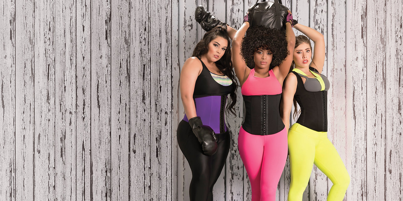 ladies wearing waisttrainers