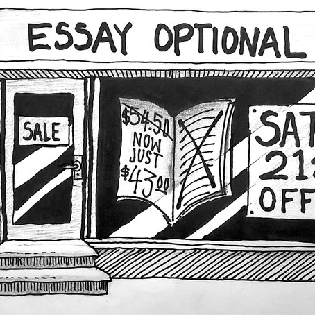 Even optional essays count!