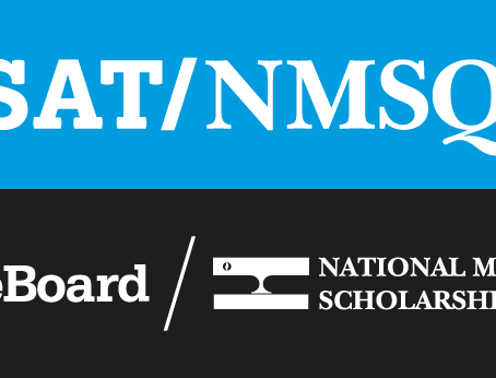 Good luck to all Juniors on their PSAT/NMSQT next week!