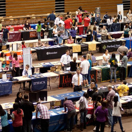 What not to do at College Fairs!
