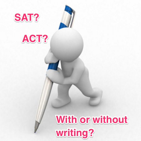 Q: Should I take the writing section of the SAT or the ACT?