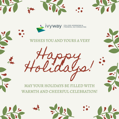 Happy Holidays from IvyWay Consulting!