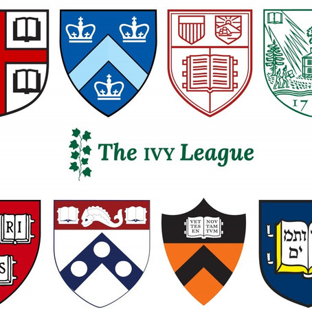 Today is Ivy Day! Congrats to those accepted into Ivy League schools!