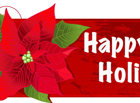Have a Happy Holiday from IvyWay!