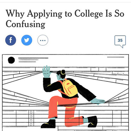 Why applying to college is so confusing