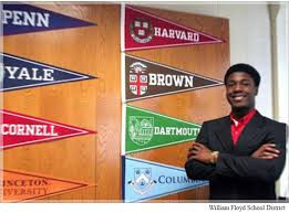 The essay that got him into all 8 Ivies!