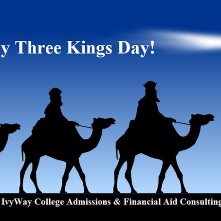 Happy Three Kings Day from IvyWay!