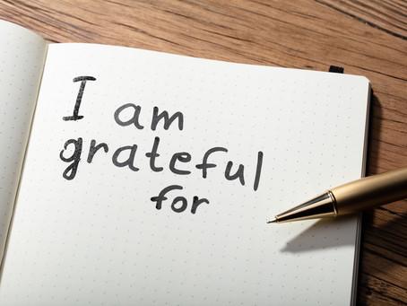 New Gratitude Prompt for 2021-2022 Common App