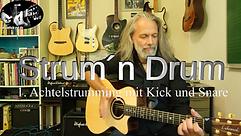 Strum´n Drum 1 / Guitar Percussion