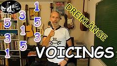 Dreiklangsvoicings / Improvisation / Rhythmusgitarre