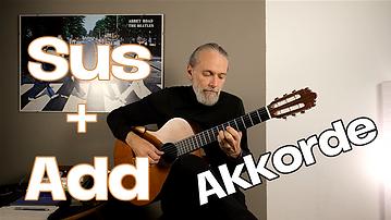 Sus & Add Akkorde