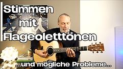Stimmen mit Flageolett / Hintergründe & Probleme