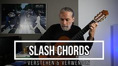 Slash Chords | Verstehen & Verwenden