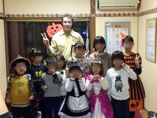 ハロウィンパーティー☆(浅水教室)