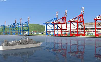 marine simulation contents development m