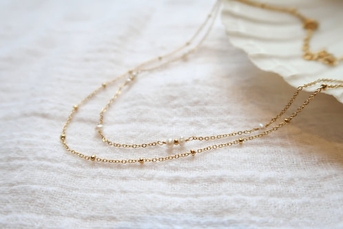 Doble perlas