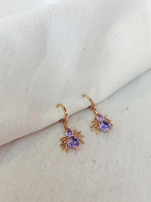 Arañita lila