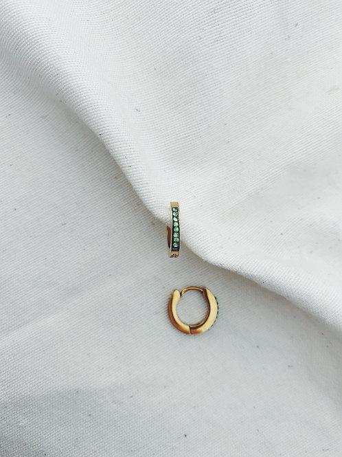 Arito verde diamantes