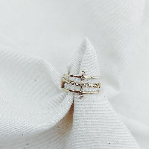 Tri cruz diamantes
