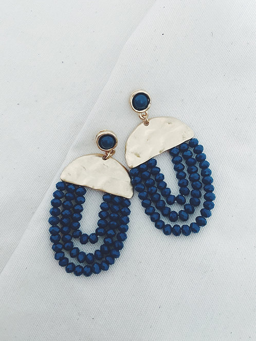 Pendientes Egipto azul