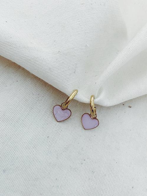 Corazón lila