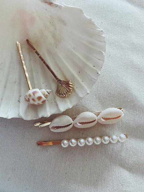 Horquillas conchas