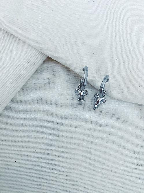 Mini elefante plata