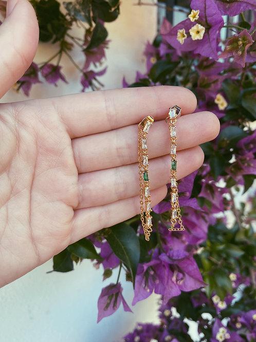 Cascada esmeralda cadena