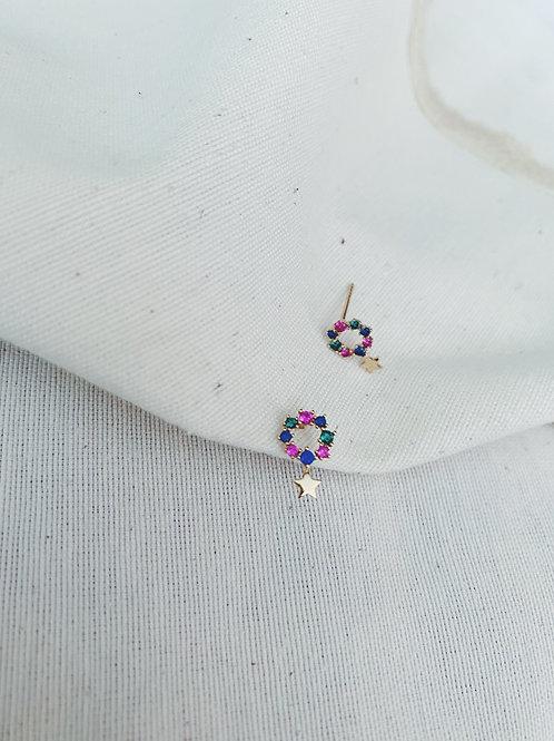 Mini detalle estrella colores